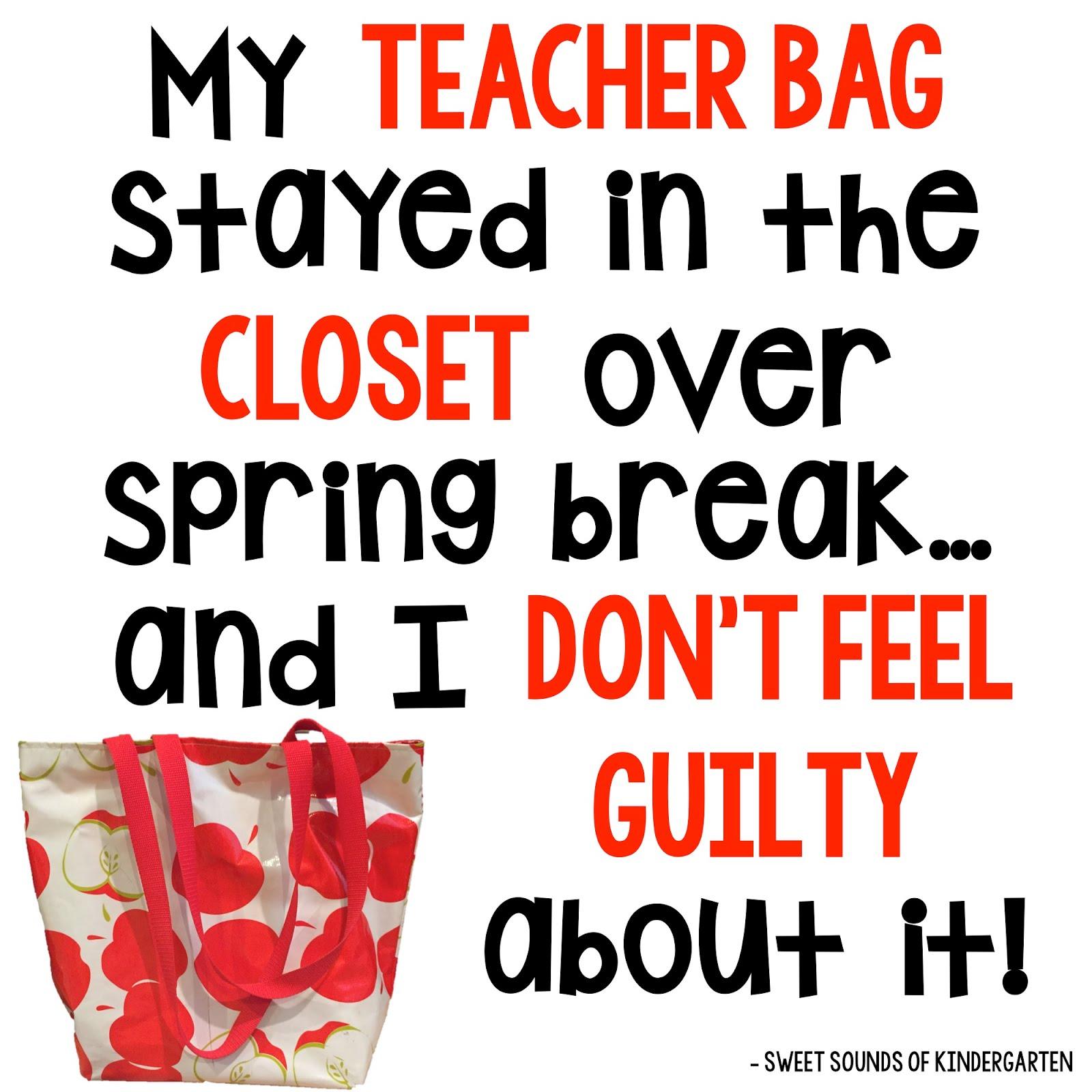 Sweet Sounds Of Kindergarten Spring Break Freebie
