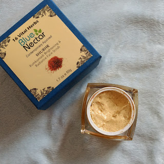 Blue Nectar Kumkumadi Brightening and Radiance Face Scrub Review