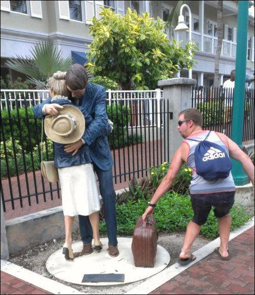 Funny sculpture photos