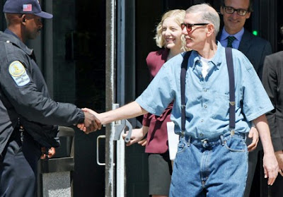 Keith Harward released from Nottaway Correctional Center in Burkeville, VA after 33 years in wrongful conviction case.