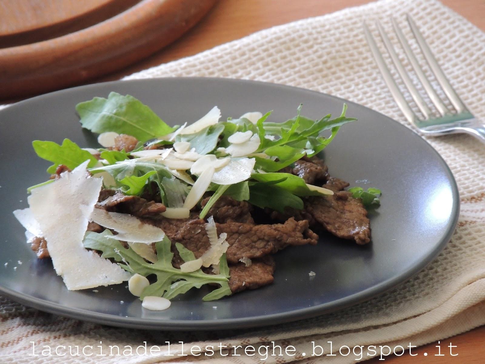 La cucina delle streghe straccetti con aceto balsamico di for Ricette culinarie