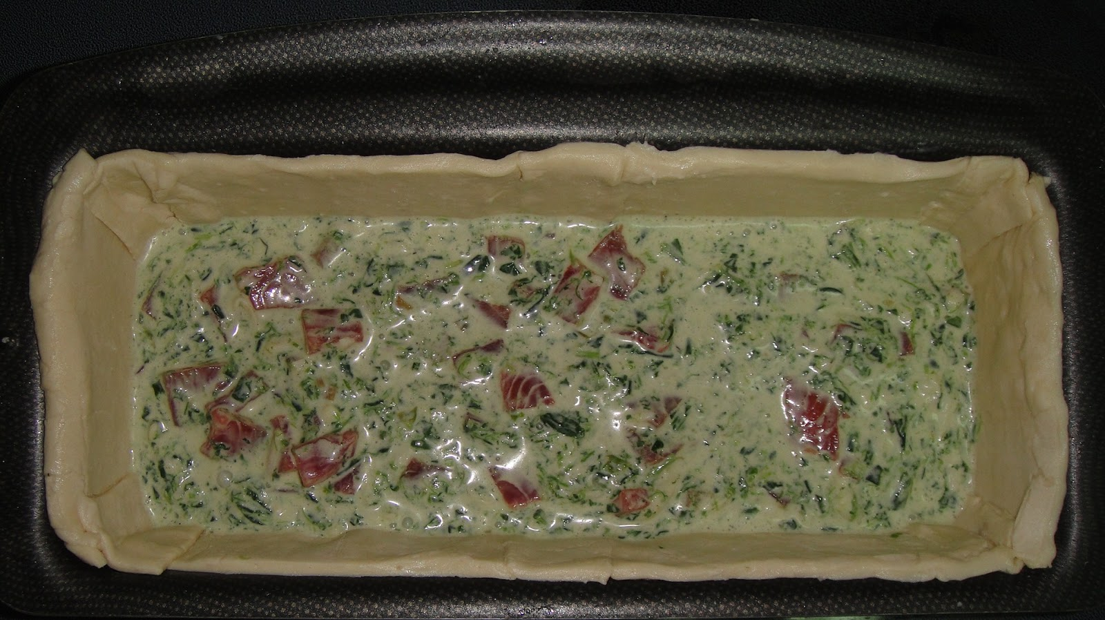 Maryam S Culinary Wonders 282 Smoked Salmon Amp Spinach Quiche