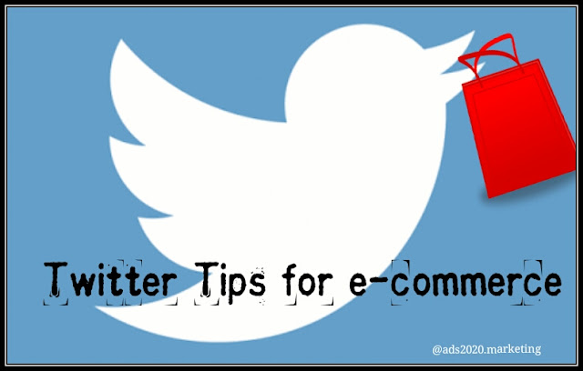 Twitter Tips for marketing Ecommerce Business