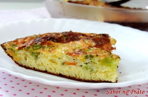 Receita de omelete de forno fácil e rápida