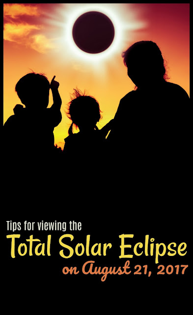 20 Tips for viewing the 2017 Total Solar Eclipse - this is a once in a lifetime, amazing experience you'll want to experience. Plan a family vacation around it this summer!