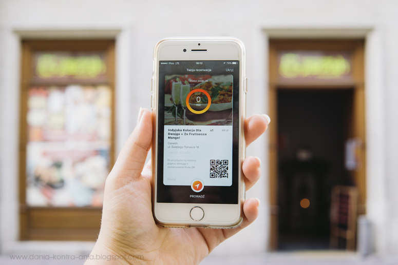Aplikacja mniam opinia Krakow Ganesh