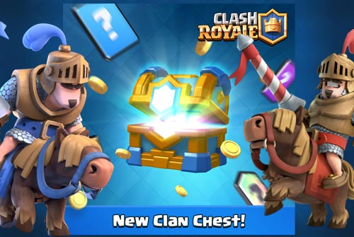 Clan Chest Update Chest Baru Clash Royale 19 Desember