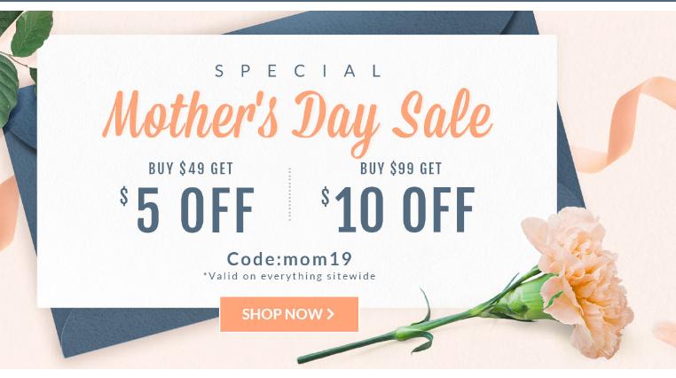 Dresslily Mother's Day Gift List