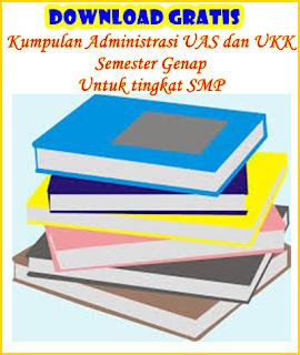 Kumpulan Administrasi UAS SMP