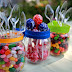 Outdoor Entertaining: Colorful Candy Accents