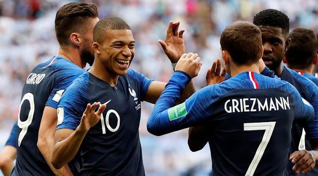 Prancis vs Uruguay Yang Dimenangi Prancis 2-0