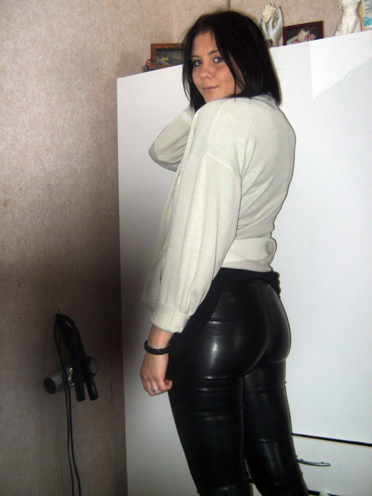 Lovely Ladies in Leather: Leather/Shiny Ass Part 13