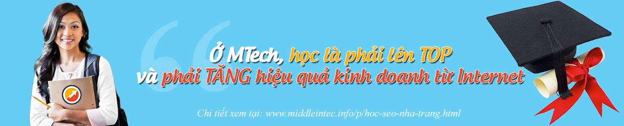 MTech - Học SEO tại Nha Trang