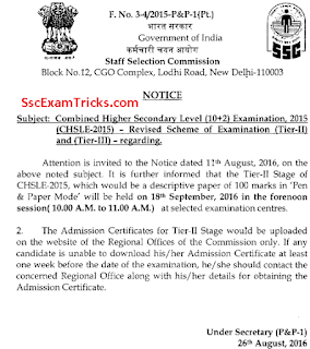 ssc chsl descriptive date