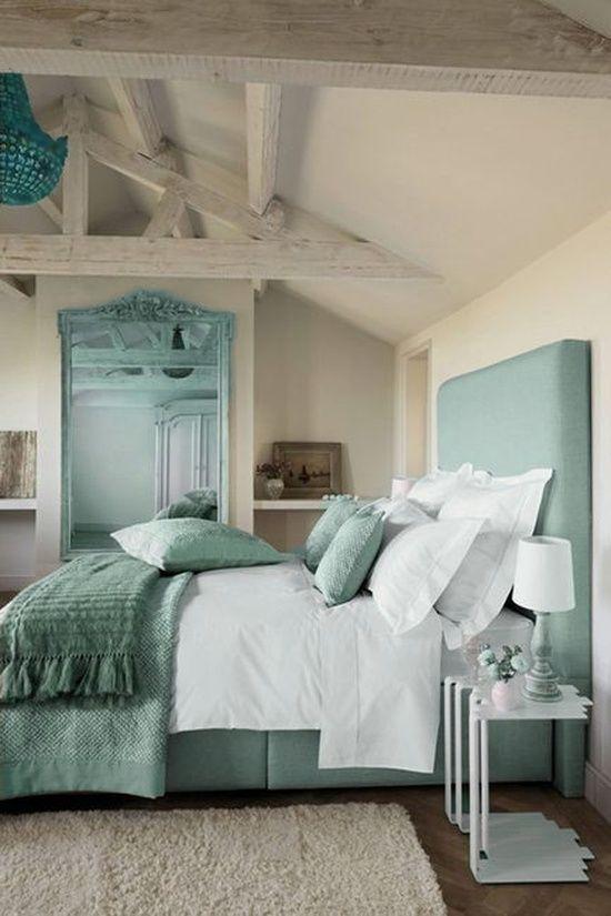 Boiserie & c.: arredo e décor: verde e turchese