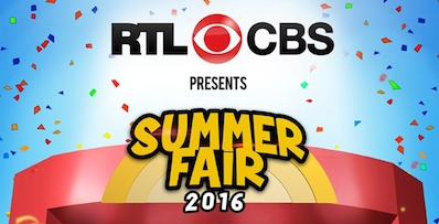 RTL CBS 2016 Summer Fair