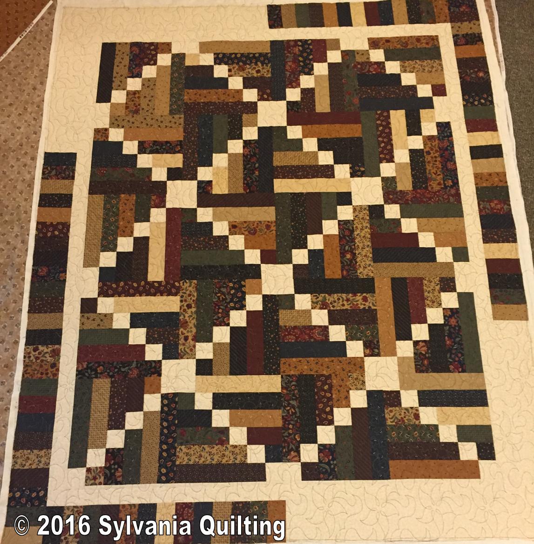 Sylvania Quilting Sticks And Stones Quilt