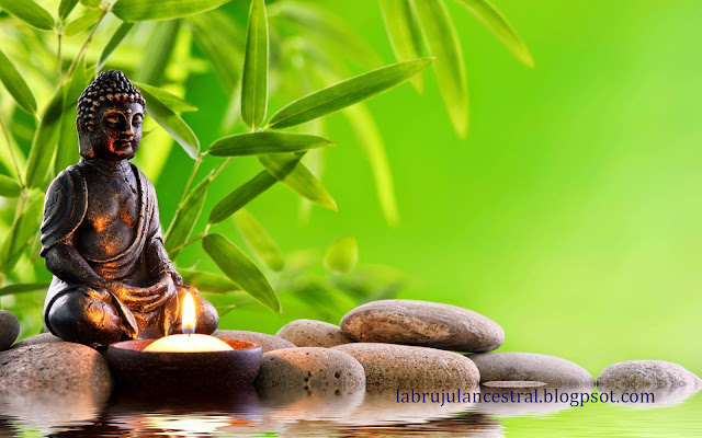 Buda zen meditando