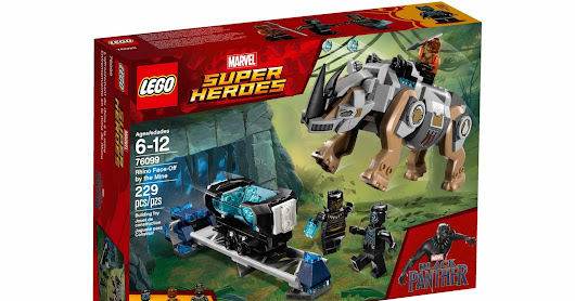 LEGO SET DATABASE LEGO 76099 Rhino Face-Off by the Mine