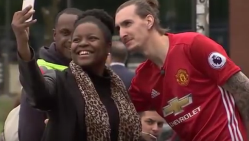 See this 'fake' Zlatan Ibrahimovic that got Man U fans all fooled (photo/video)