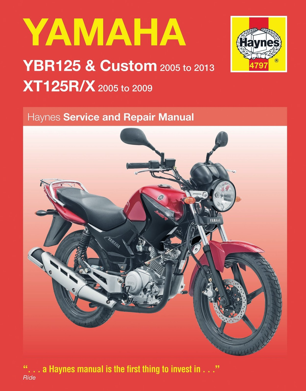 Yamaha YBR 125 electrical system , wiring diagrams and components .