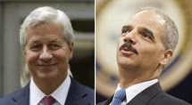 ''JP Morgan's [Jamie] Dimon meetings with Attorney General Holder.'' REUTERS. 26, 2013