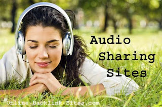 Top Ranking Audio Sharing Sites List