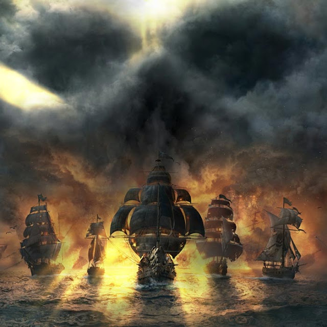 Skull and Bones Wallpaper Engine
