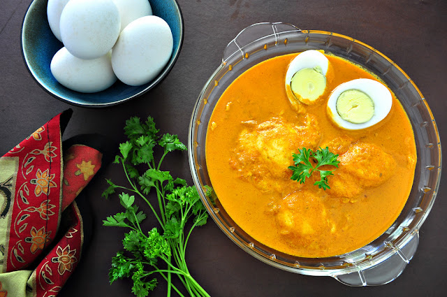 Goan Tantiam Koddi (Egg Curry)