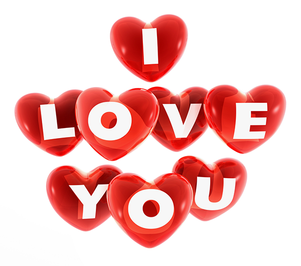 I Love You Emoticons Text
