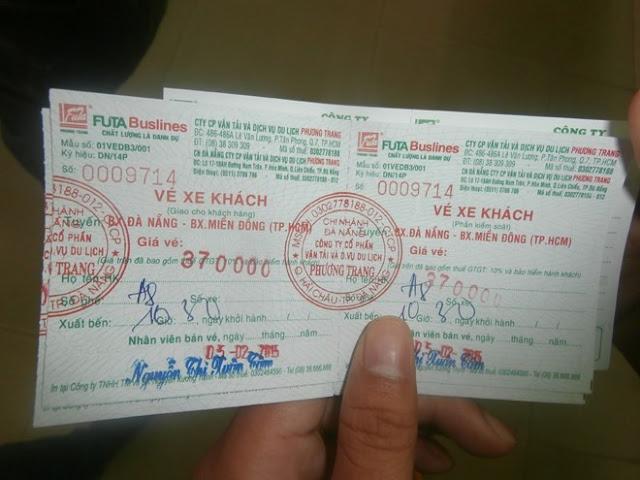 in ấn vé xe rẻ