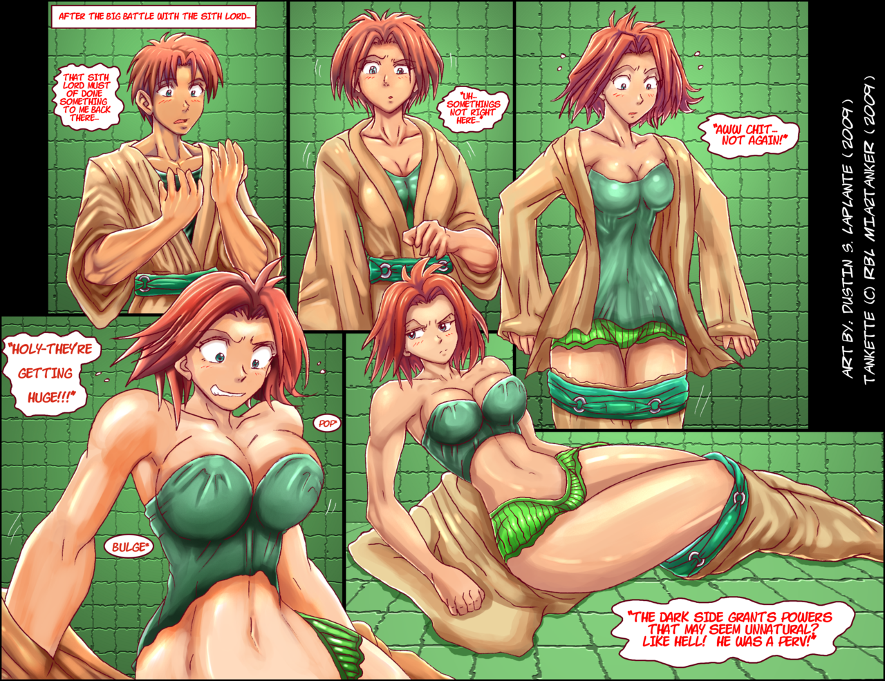 Body transformation porn