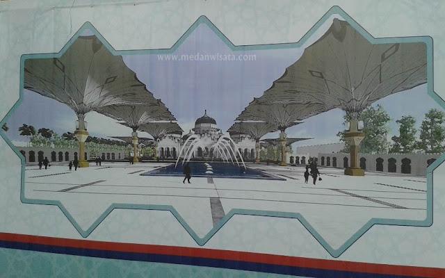 Renovasi Masjid Raya Baiturrahman Banda Aceh