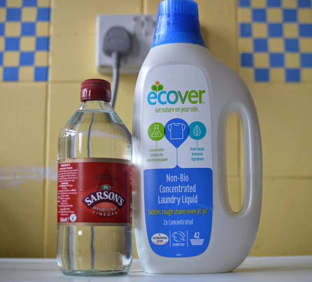 Lighten the load Ecover Laundry Liquid