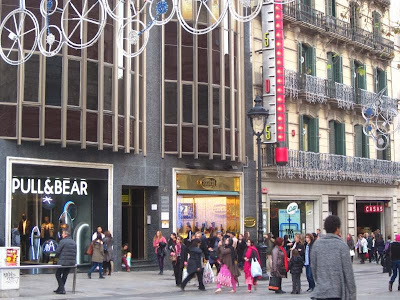 Pull and Bear in Barcelona