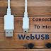 WebUSB API - Connect USB to Internet
