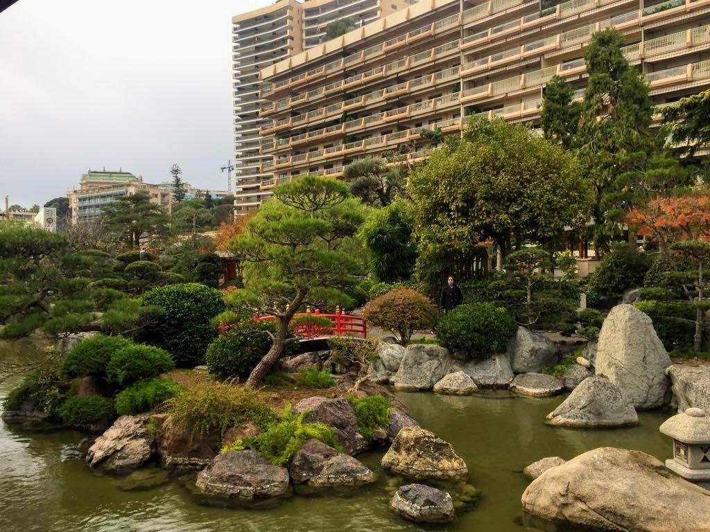 Japanese Garden, worthy one day in Monaco