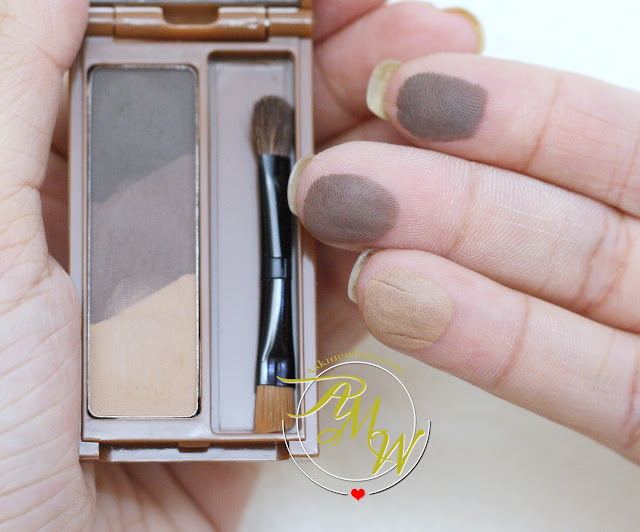 a swatch photo of Cathy Doll Triple Eyebrow Designing in 02 Natural Brown