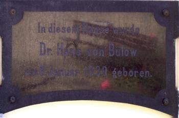 Originalgedenktafel von der Körnerstr. 12 in Dresden