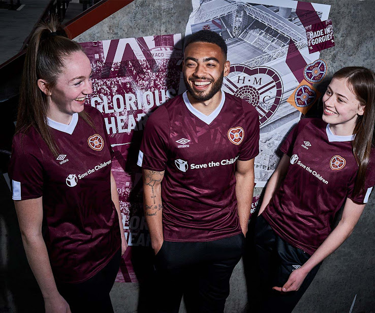 size 40 67a42 427bd Hearts 19-20 Home Kit Revealed - Footy Headlines