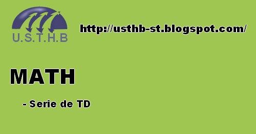 Développements Limités Cours Et Exercices | U.S.T.H.B