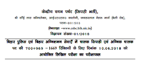 Bihar Police Constable 2018 Result Out - Direct Link to Download