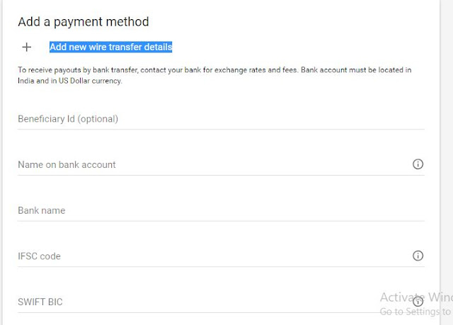 May I receive Google adsense payment in my friend account ? how