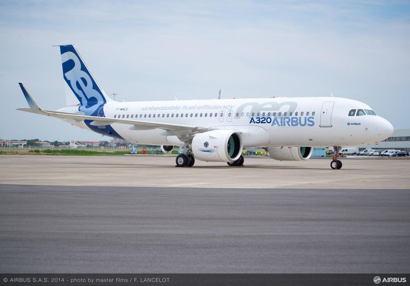 Airbus says some A320neos grounded by Pratt engine issue
