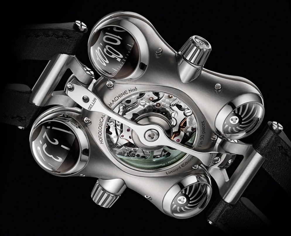 Calibre Montre MB&F HM6 Space Pirate