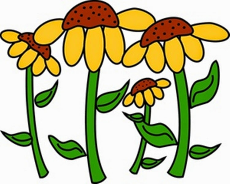 clipart garden flowers - photo #19