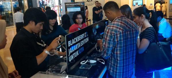 Begini Suasana Consumer Launch BlackBerry Z3 di Bandung