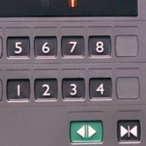 エレベータボタン