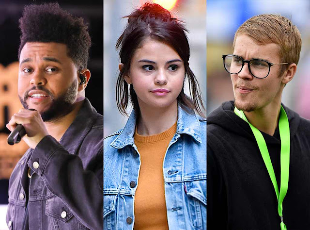 "The Weeknd ""Upset"" Over Selena Gomez and Justin Bieber Hangout"
