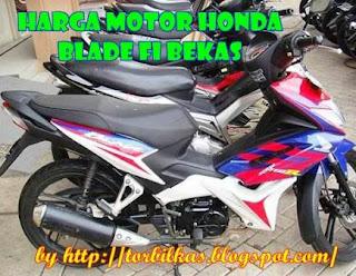 Daftar Harga Motor Honda Blade FI Bekas Murah